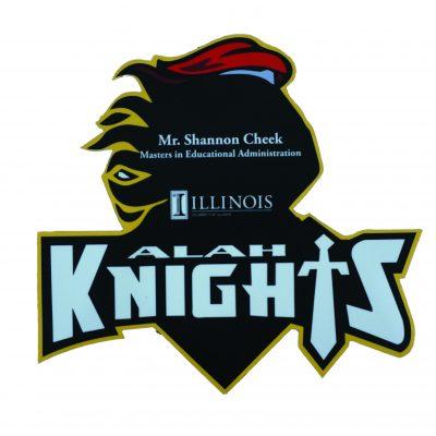 ALAH Knights Staff